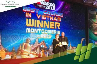 Montgomerie Links voted as the Best Golf Course in Vietnam